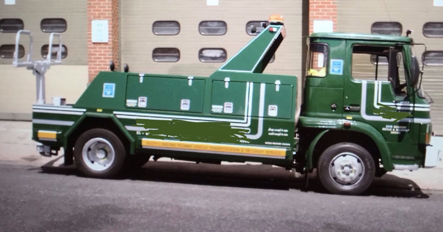 1990 Very Rare Bedford 814 TL 7.5 TON Recovery Truck SOLD (picture 1 of 6)