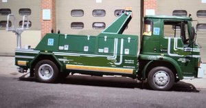 1990 Very Rare Bedford 814 TL 7.5 TON Recovery Truck For Sale