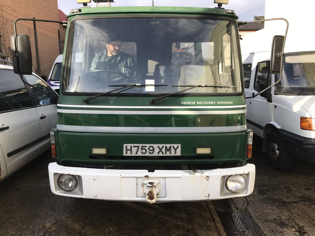 1990 Very Rare Bedford 814 TL 7.5 TON Recovery Truck SOLD (picture 3 of 6)