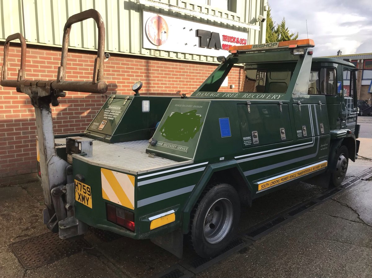 1990 Very Rare Bedford 814 TL 7.5 TON Recovery Truck SOLD (picture 4 of 6)