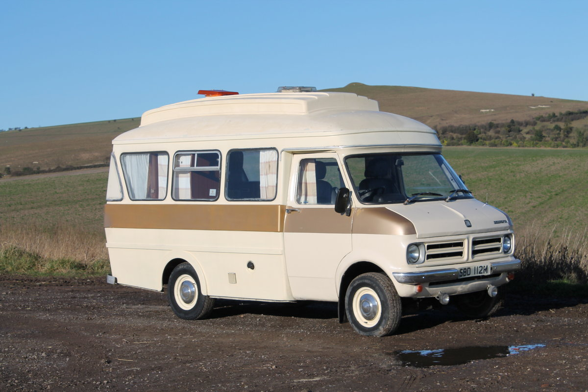 1974 Rare historic Bedford CF 2.3 Dormobile Landcruiser For Sale (picture 2 of 6)
