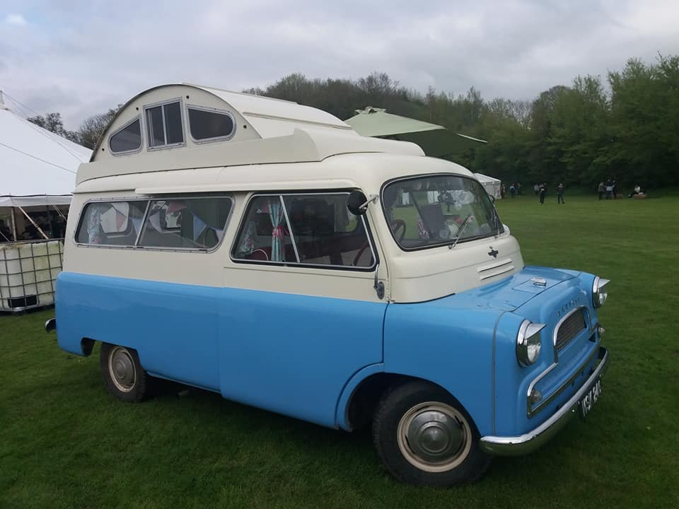 1961 Bedford CA Calthorpe Camper For Sale (picture 1 of 6)