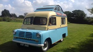 Rare 1957 bedford ca calthorpe home cruiser For Sale
