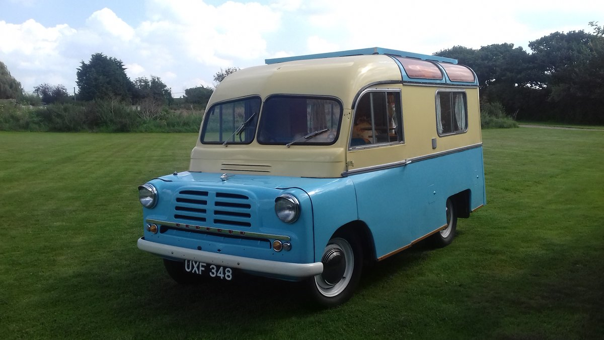 Rare 1957 bedford ca calthorpe home cruiser For Sale (picture 6 of 6)