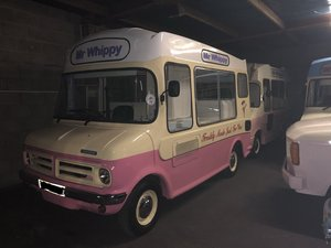 1978 Classic Bedford Cf Mr Whippy Soft Ice Cream Van