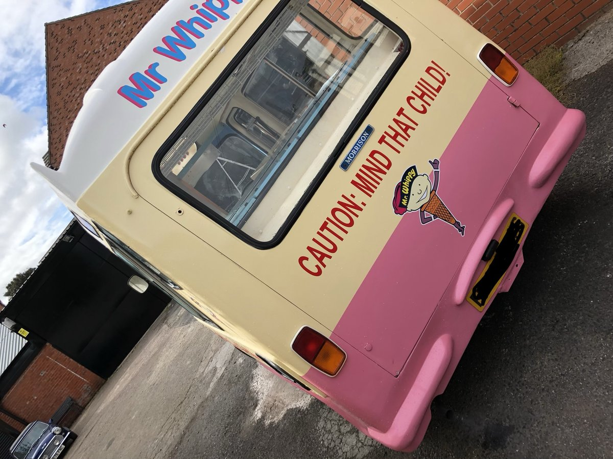 1978 Classic Bedford Cf Mr Whippy Soft Ice Cream Van For Sale (picture 3 of 6)