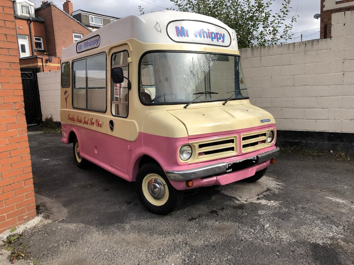 1978 Classic Bedford Cf Mr Whippy Soft Ice Cream Van For Sale (picture 4 of 6)