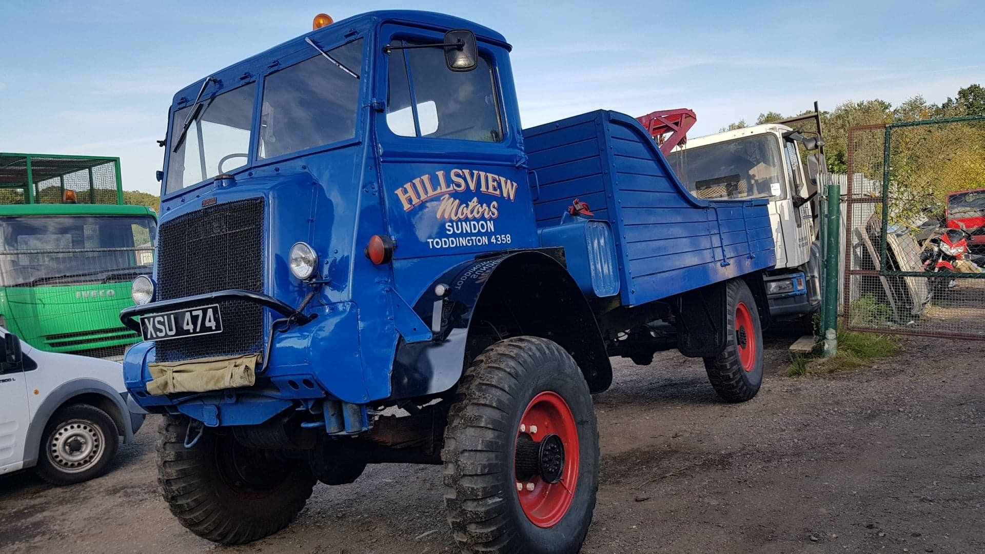Bedford QL lorry wrecker 1945 For Sale (picture 2 of 5)