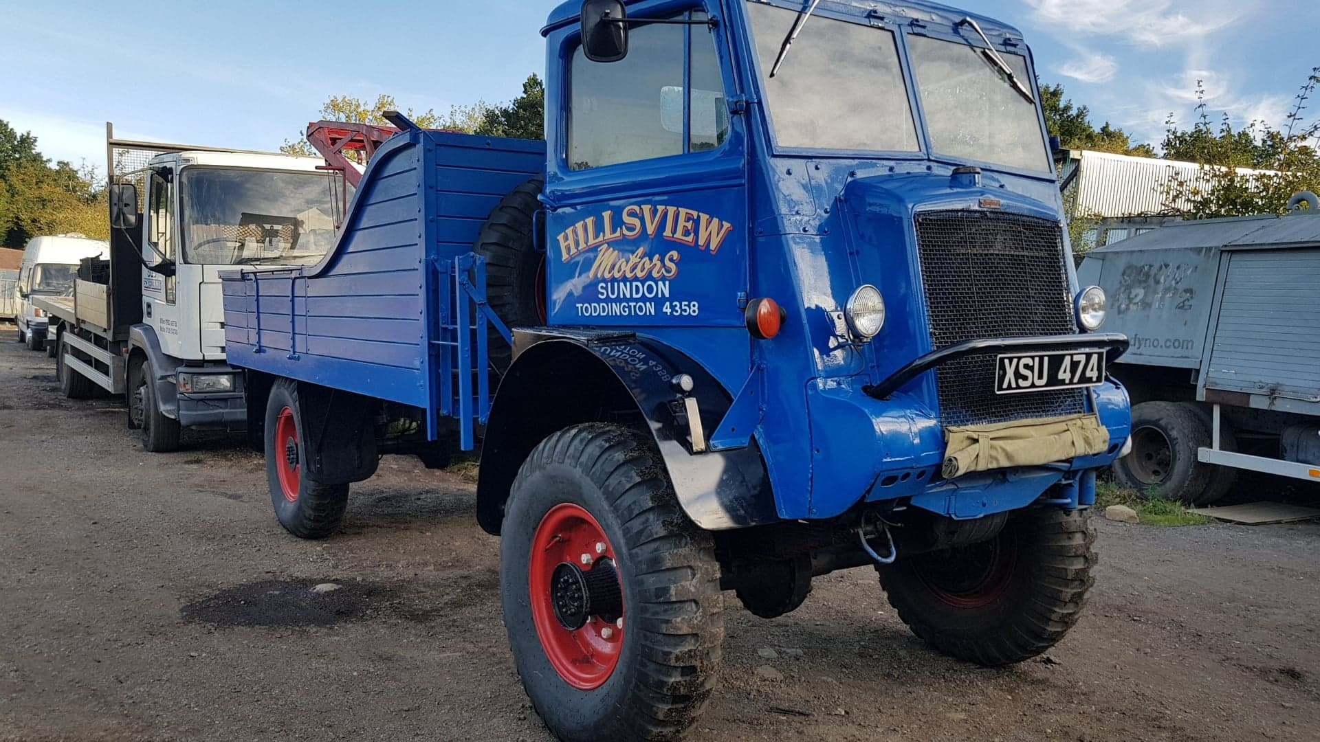 Bedford QL lorry wrecker 1945 For Sale (picture 3 of 5)