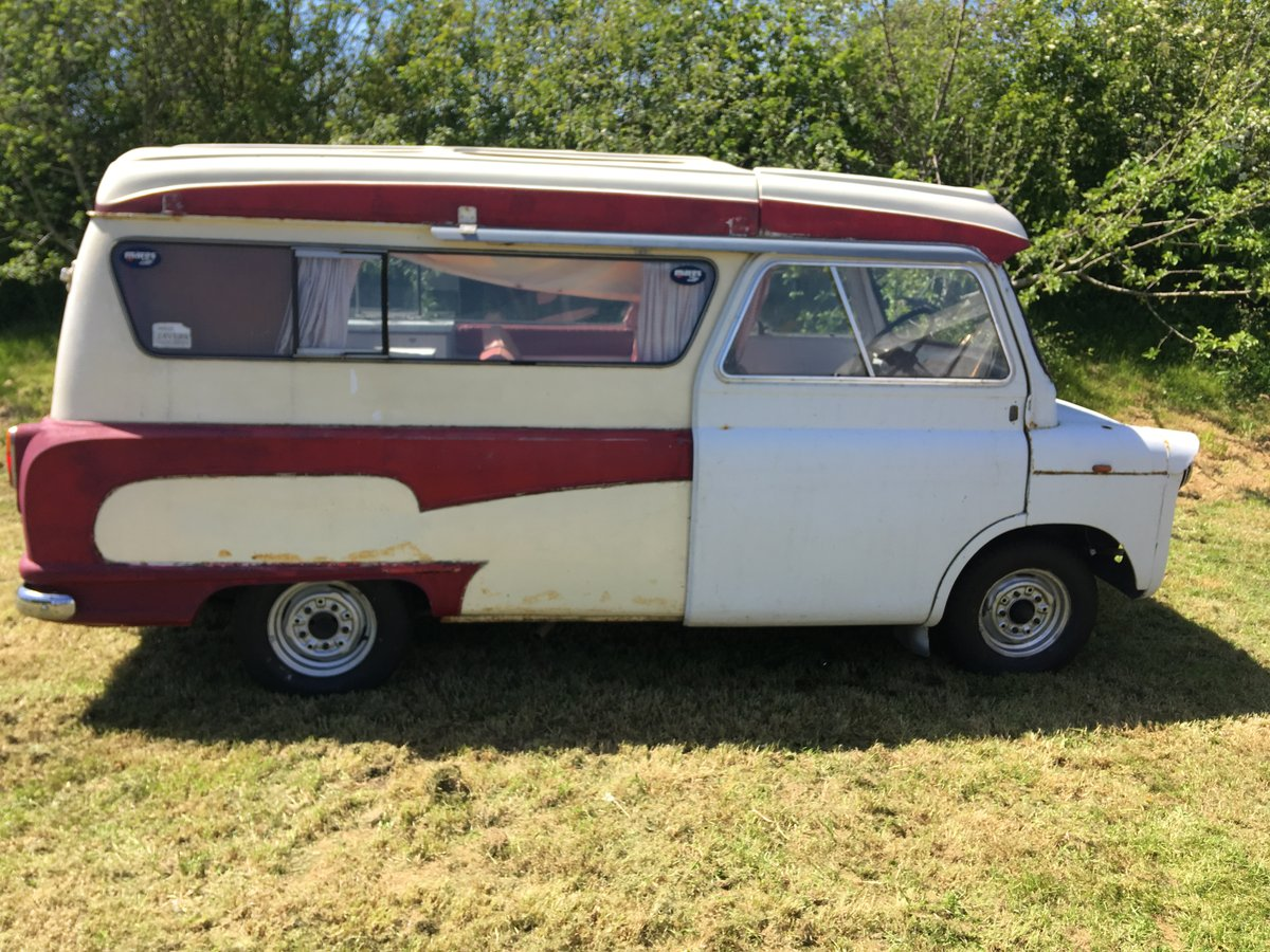 1968 Bedford CA Dormobile For Sale (picture 1 of 6)