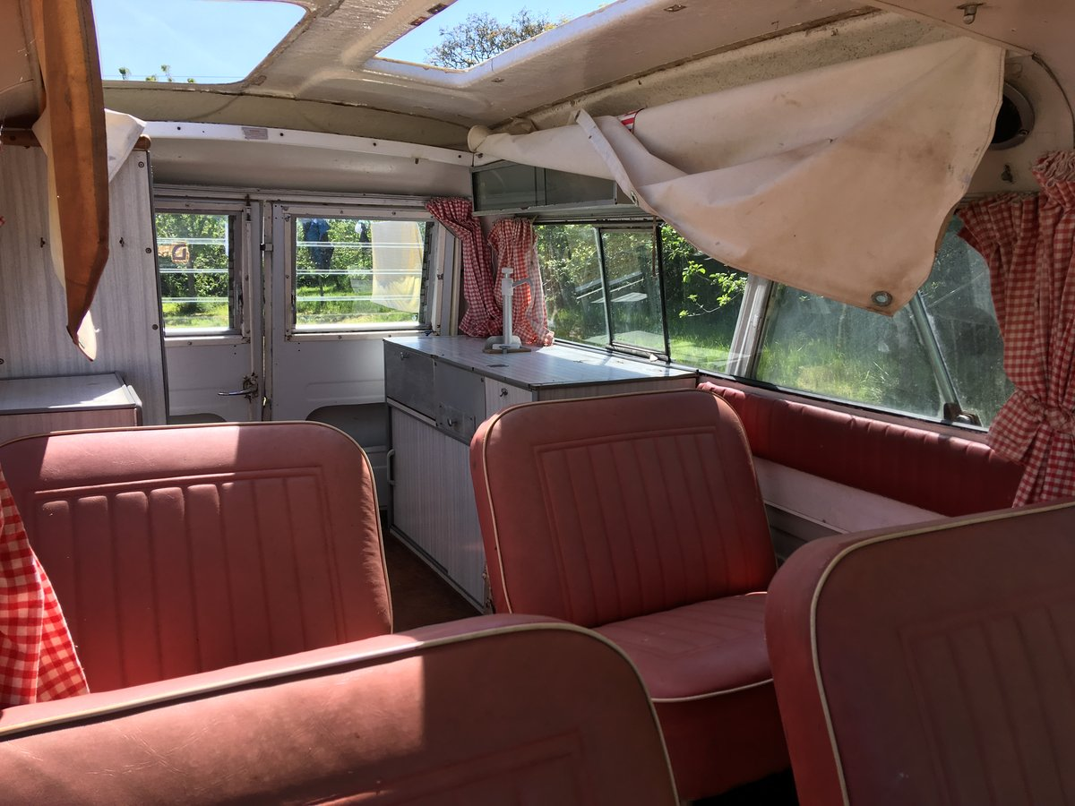 1968 Bedford CA Dormobile For Sale (picture 3 of 6)