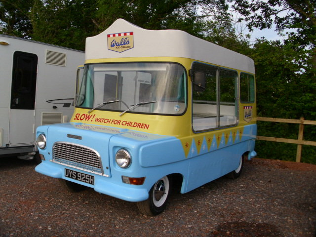 1969 bedford ca electrofreeze ice cream van For Sale (picture 1 of 6)