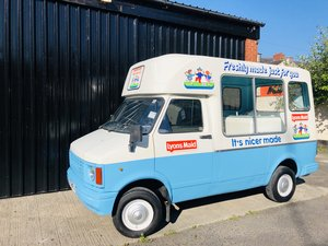 1987 Classic bedford cf ice cream van morrison icecream
