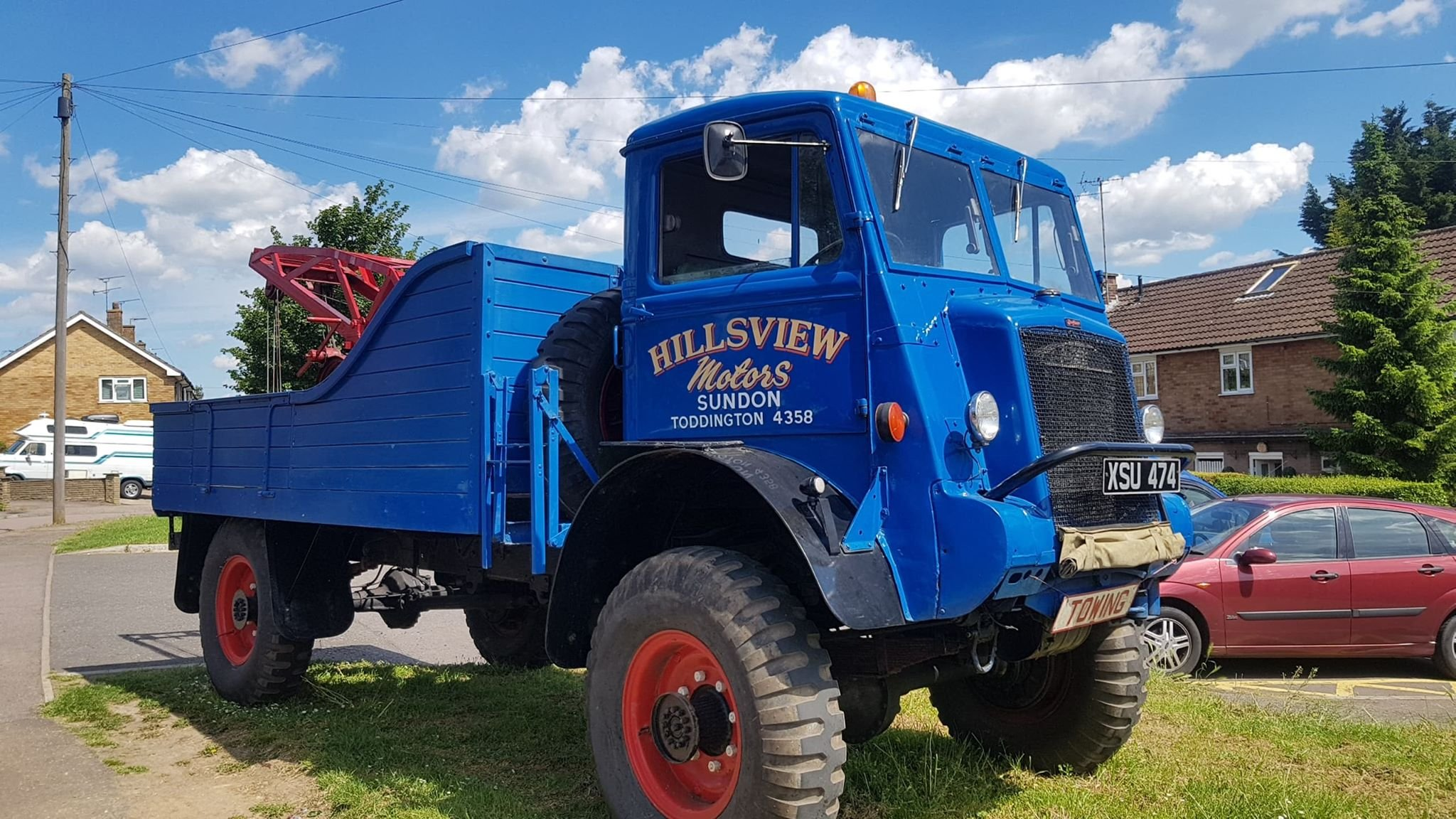 Bedford QL lorry wrecker 1945 For Sale (picture 1 of 4)