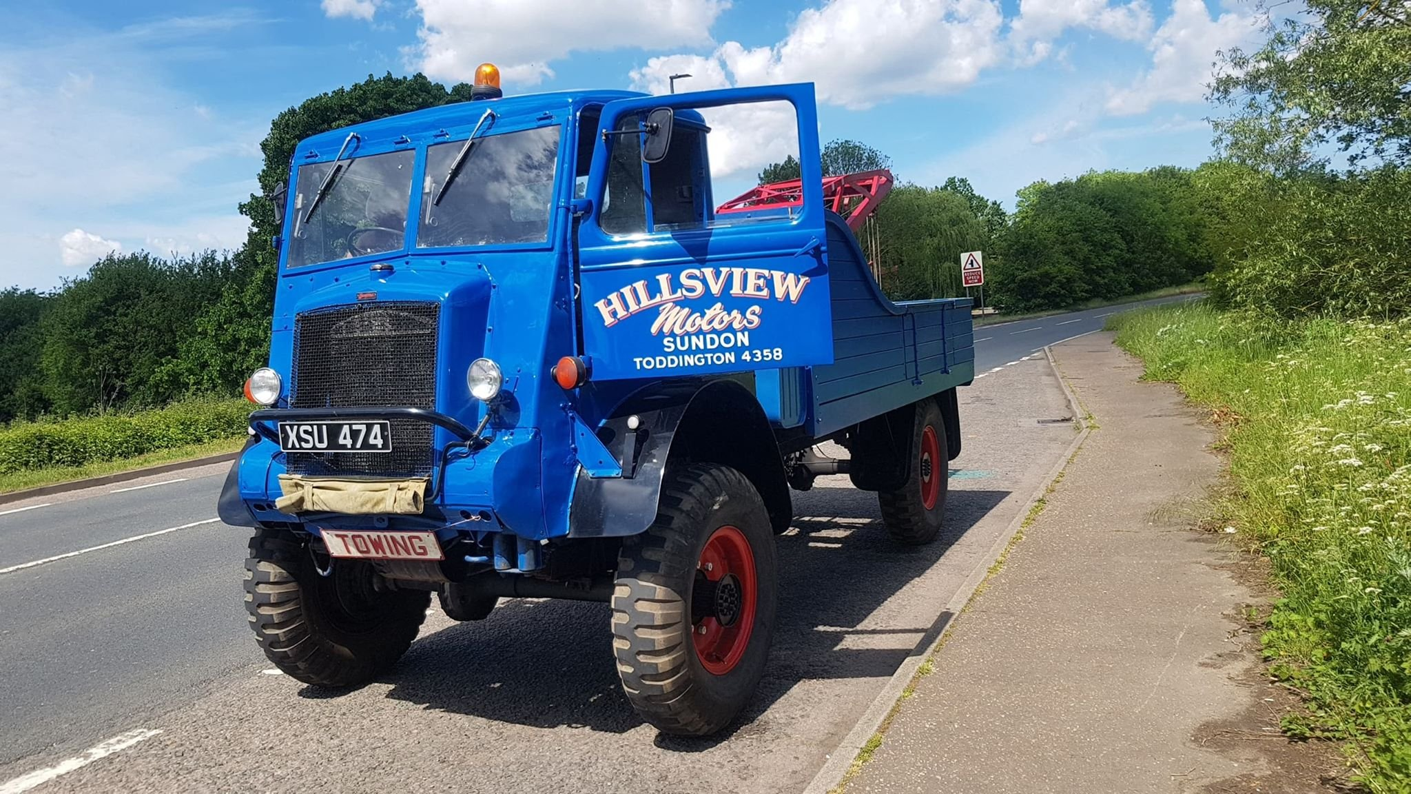 Bedford QL lorry wrecker 1945 For Sale (picture 2 of 4)