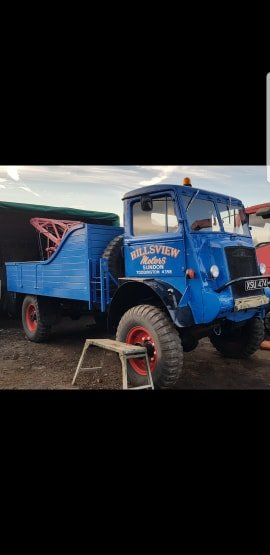 Bedford QL lorry wrecker 1945 For Sale (picture 4 of 4)