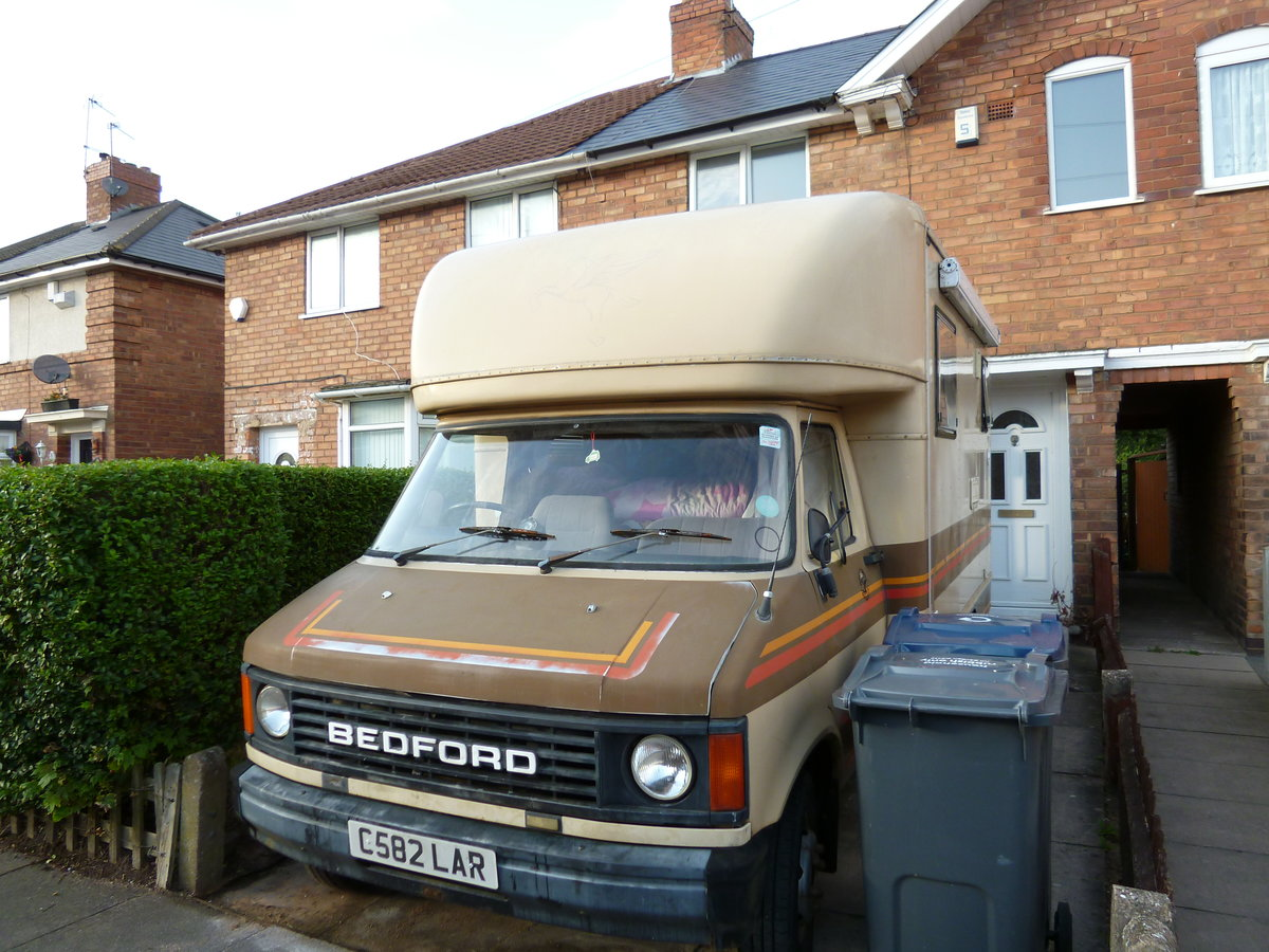 1986 Bedford 2.3D 3.5T Hawton Camper Conversion For Sale (picture 1 of 6)