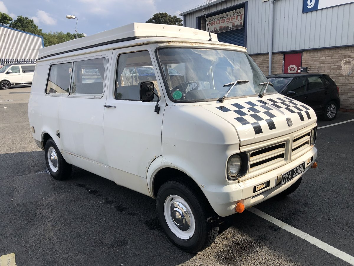 1973 Bedford CF camper For Sale (picture 1 of 6)