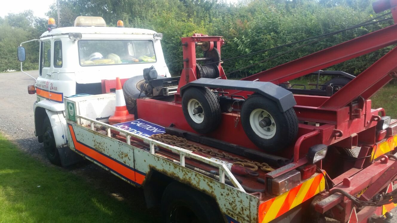 1986 Bedford classic recovery / breakdown truck For Sale (picture 3 of 6)