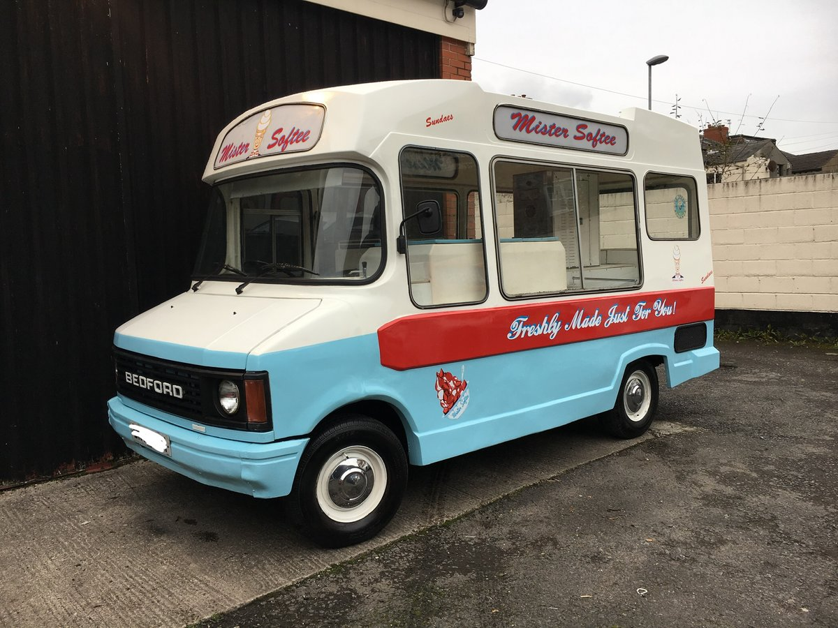 1980 Classic morrison bedford cf ice cream van icecream For Sale (picture 1 of 6)