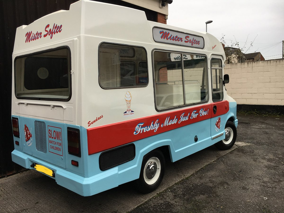 1980 Classic morrison bedford cf ice cream van icecream For Sale (picture 3 of 6)