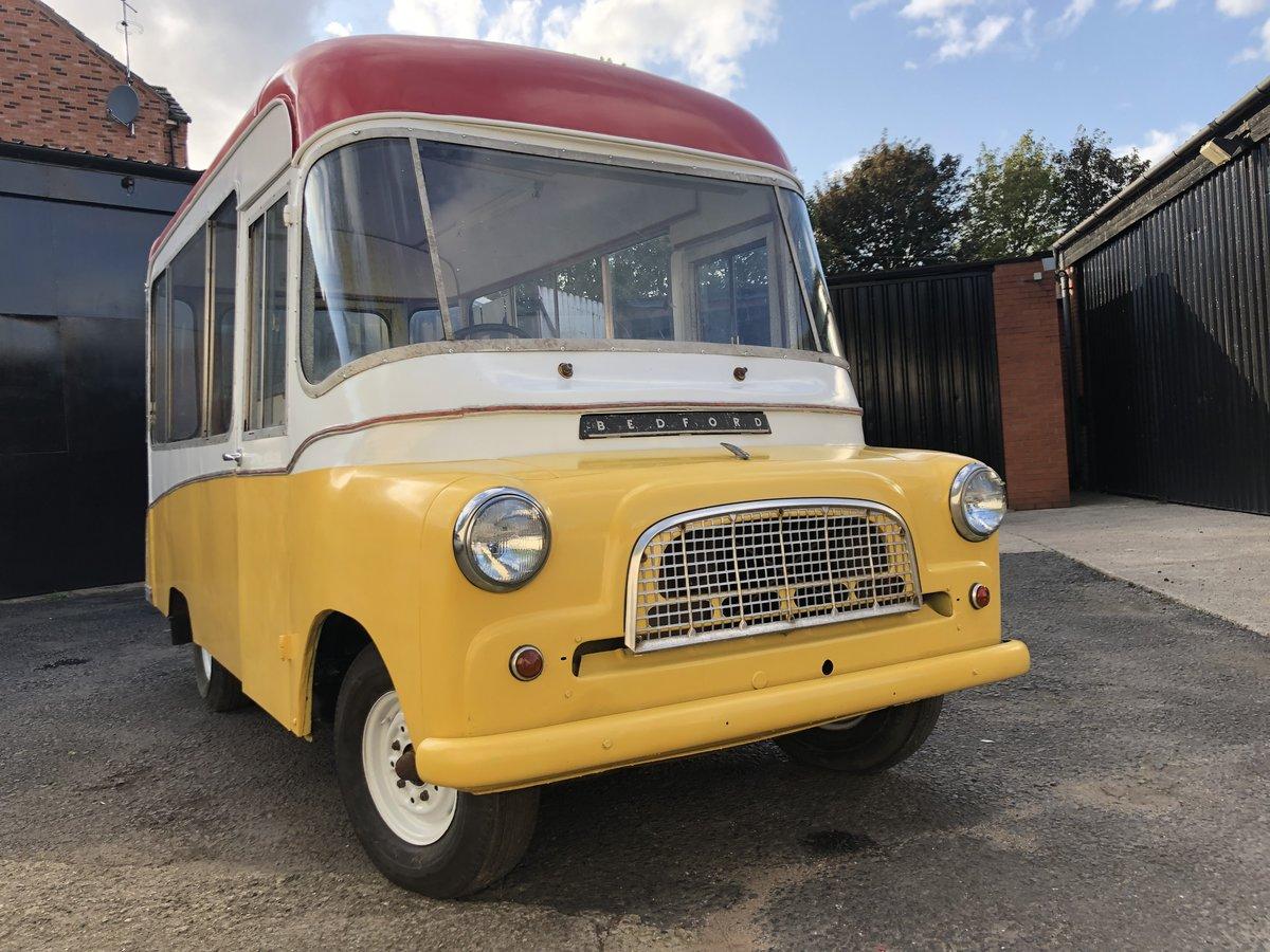 1964 Bedford CA Ice Cream Van Icecream Classic Cf 60's For Sale (picture 1 of 6)