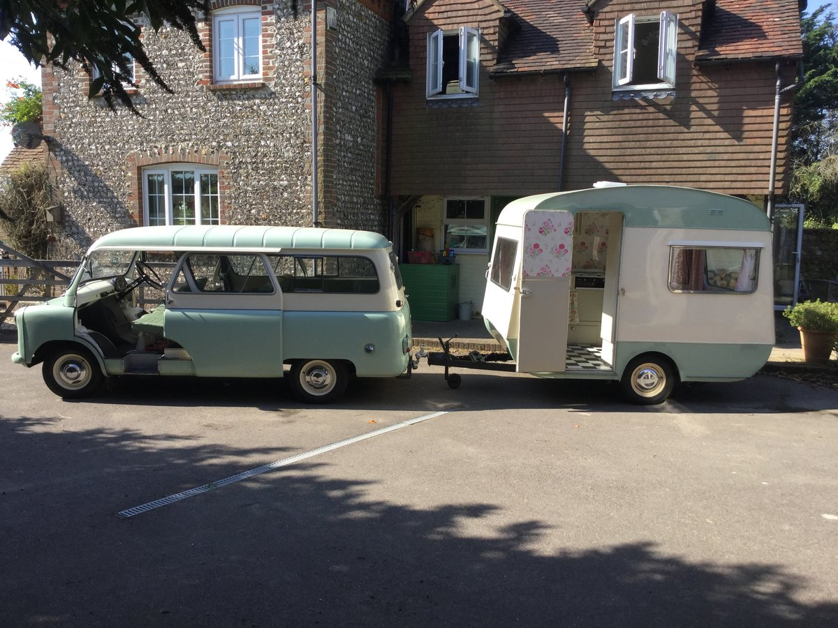 Bedford CA and classic caravan Classic  For Sale (picture 1 of 6)