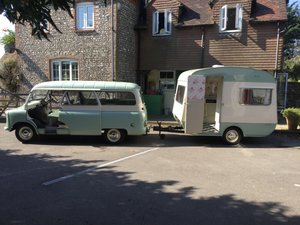 Bedford CA and classic caravan Classic  For Sale