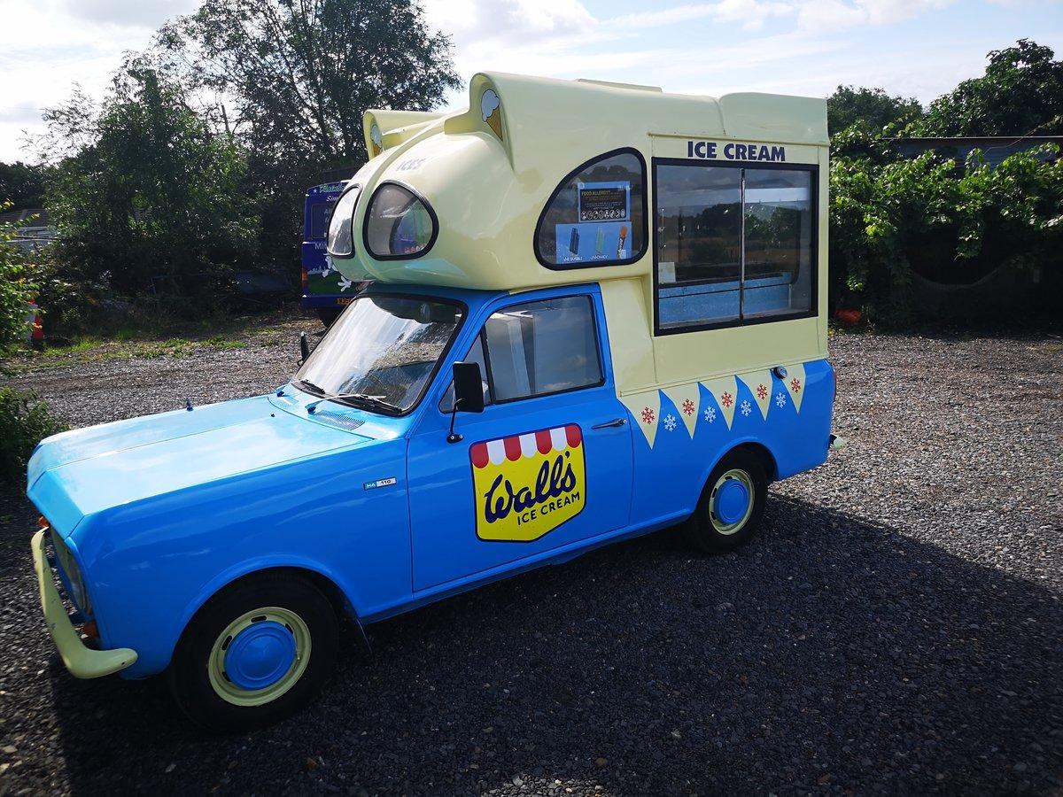 1979 Bedford HA cummins ice cream van classic For Sale (picture 1 of 6)