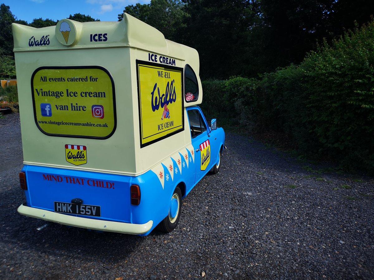 1979 Bedford HA cummins ice cream van classic For Sale (picture 2 of 6)