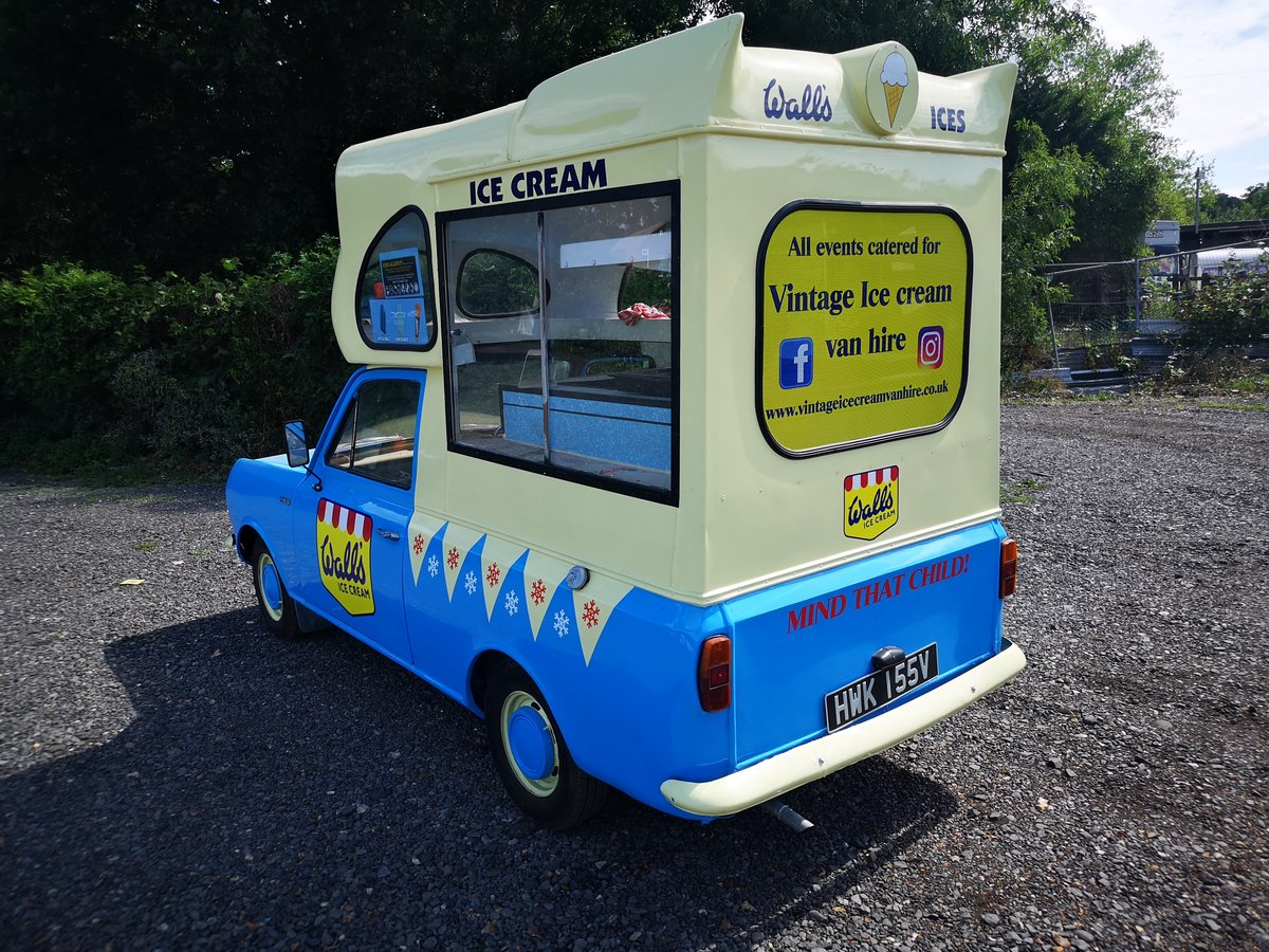 1979 Bedford HA cummins ice cream van classic For Sale (picture 3 of 6)