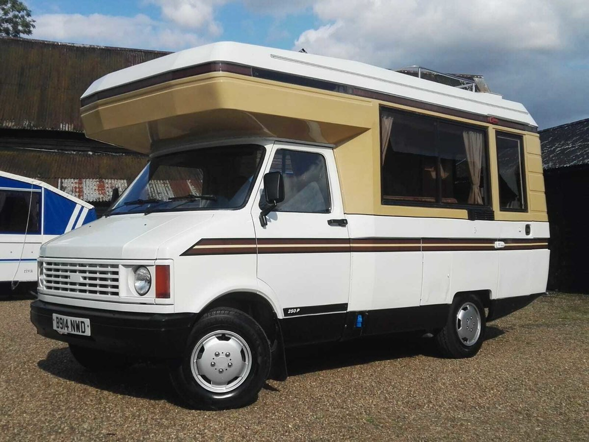 1985 Bedford Motorhome Power Steering LPG Conversion For Sale (picture 1 of 6)