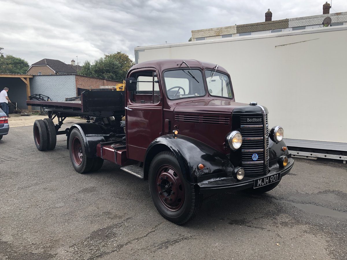 1951 Bedford Scammell lorry For Sale (picture 1 of 6)