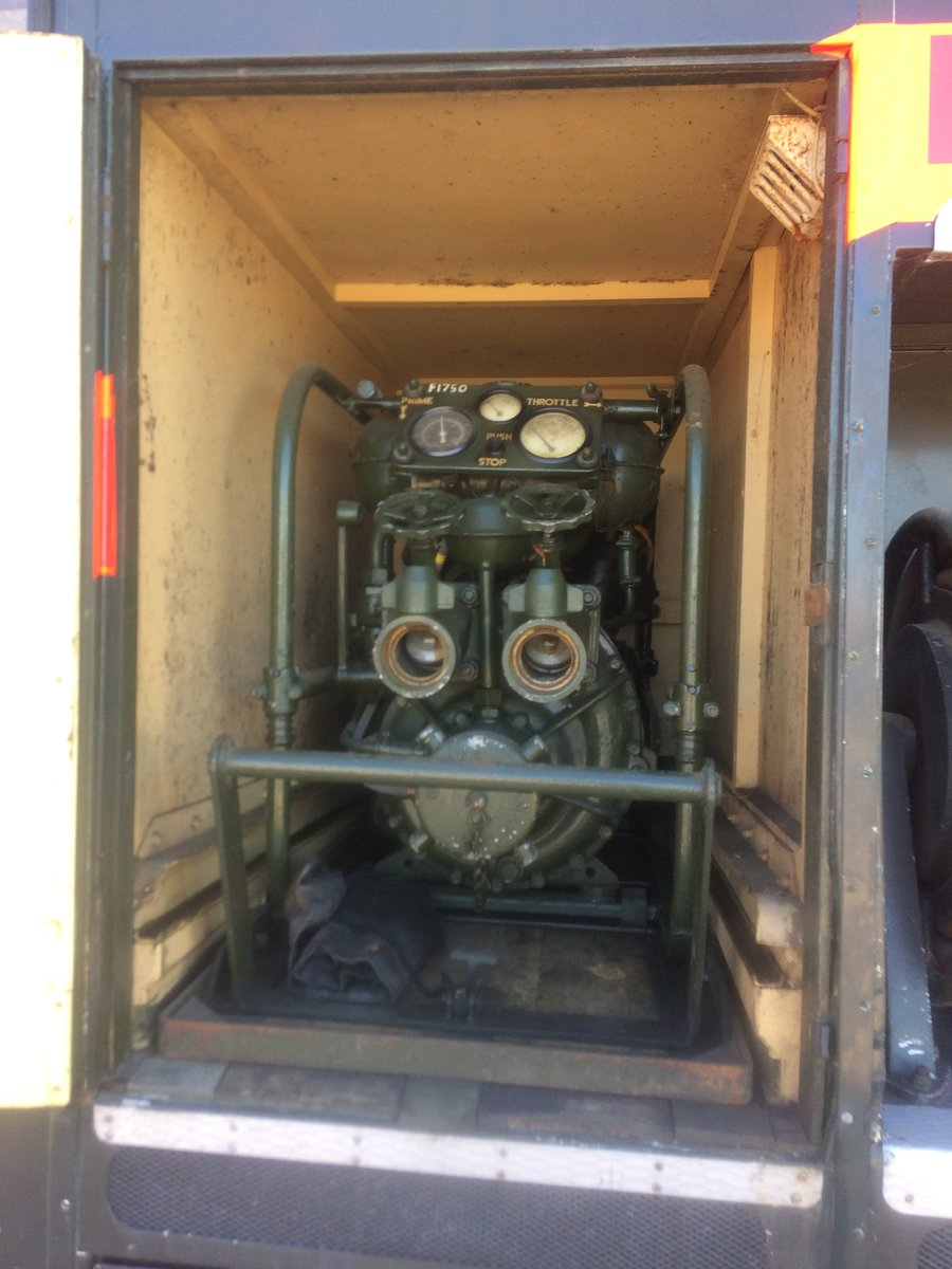 1956 Bedford Green Goddess Fire Engine EX MOD For Sale (picture 5 of 6)