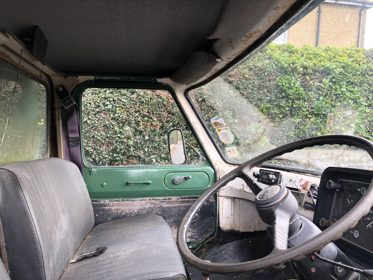 1975 Bedford CF Horsebox, 55k miles, 1976 historic For Sale (picture 4 of 6)