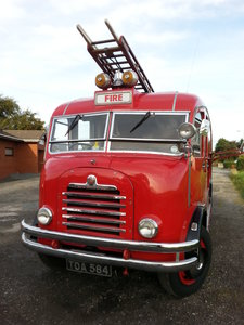 Picture of Bedford Fire Engine 1955