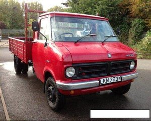 1980 Bedford cf1 flatbed p/up For Sale