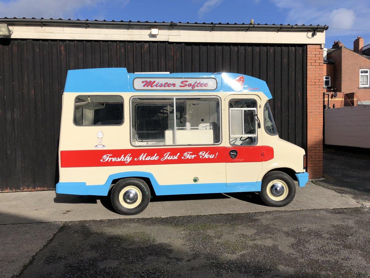 1982 Bedford Cf Morrison Ice Cream Van Classic Icecream For Sale (picture 2 of 6)
