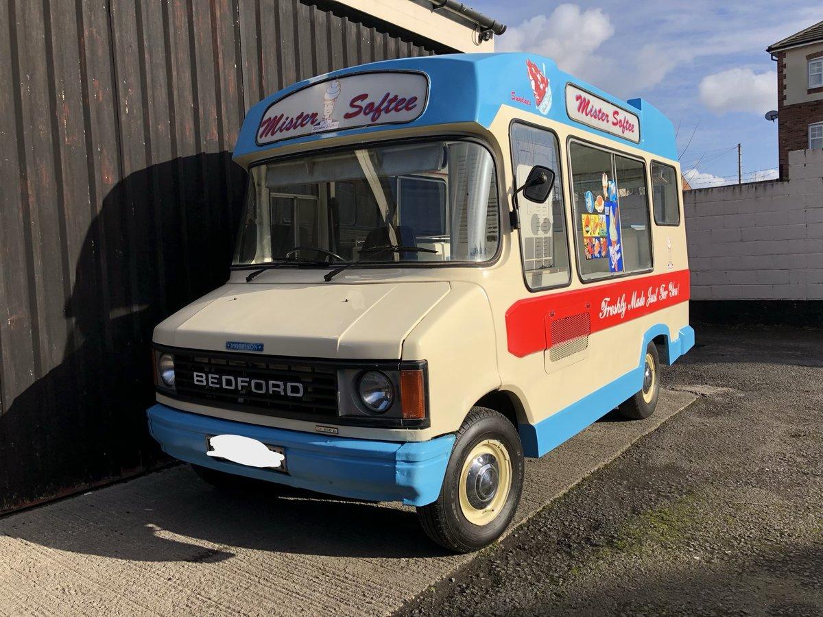 1982 Bedford Cf Morrison Ice Cream Van Classic Icecream For Sale (picture 6 of 6)