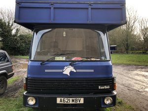 1983 Classic 7.5T Bedford Horse Lorry.SOLD IN 3 DAYS