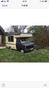 1985 Bedford Motorhome