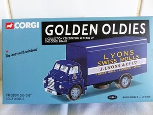 Picture of  2 bedford s vans, lyons swiss rolls,.spratts