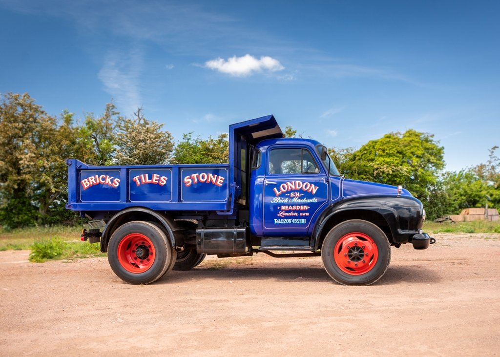 1959 Bedford J5 Tipper (Short wheelbase) SOLD by Auction (picture 1 of 6)