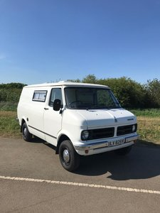 1980 BEDFORD CF VAN - IDEAL ADVERTISING VEHICLE FOR YOUR BUSINESS