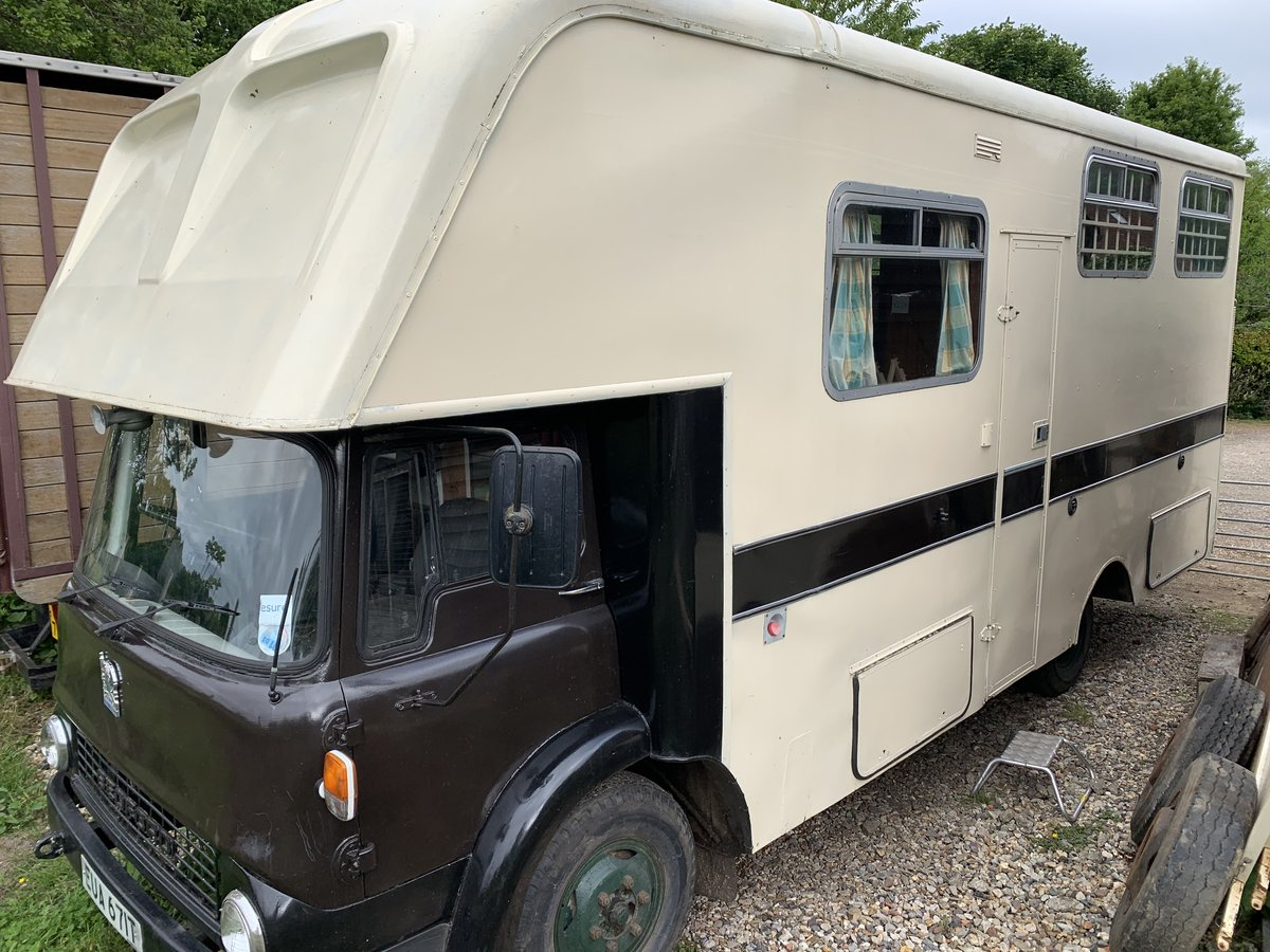 1978 Bedford TK Classic Oakley Horsebox For Sale (picture 2 of 6)