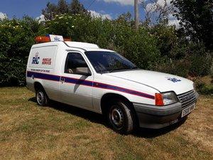 1988 Bedford Astramax 1.3 Van at ACA 20th June  For Sale