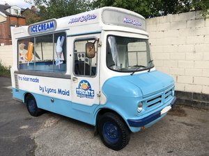 Cummins Bedford Cf Ice Cream Van Classic Icecream