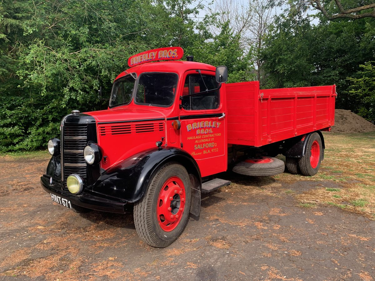 1948 Bedford O hydraulic tipper For Sale (picture 1 of 5)