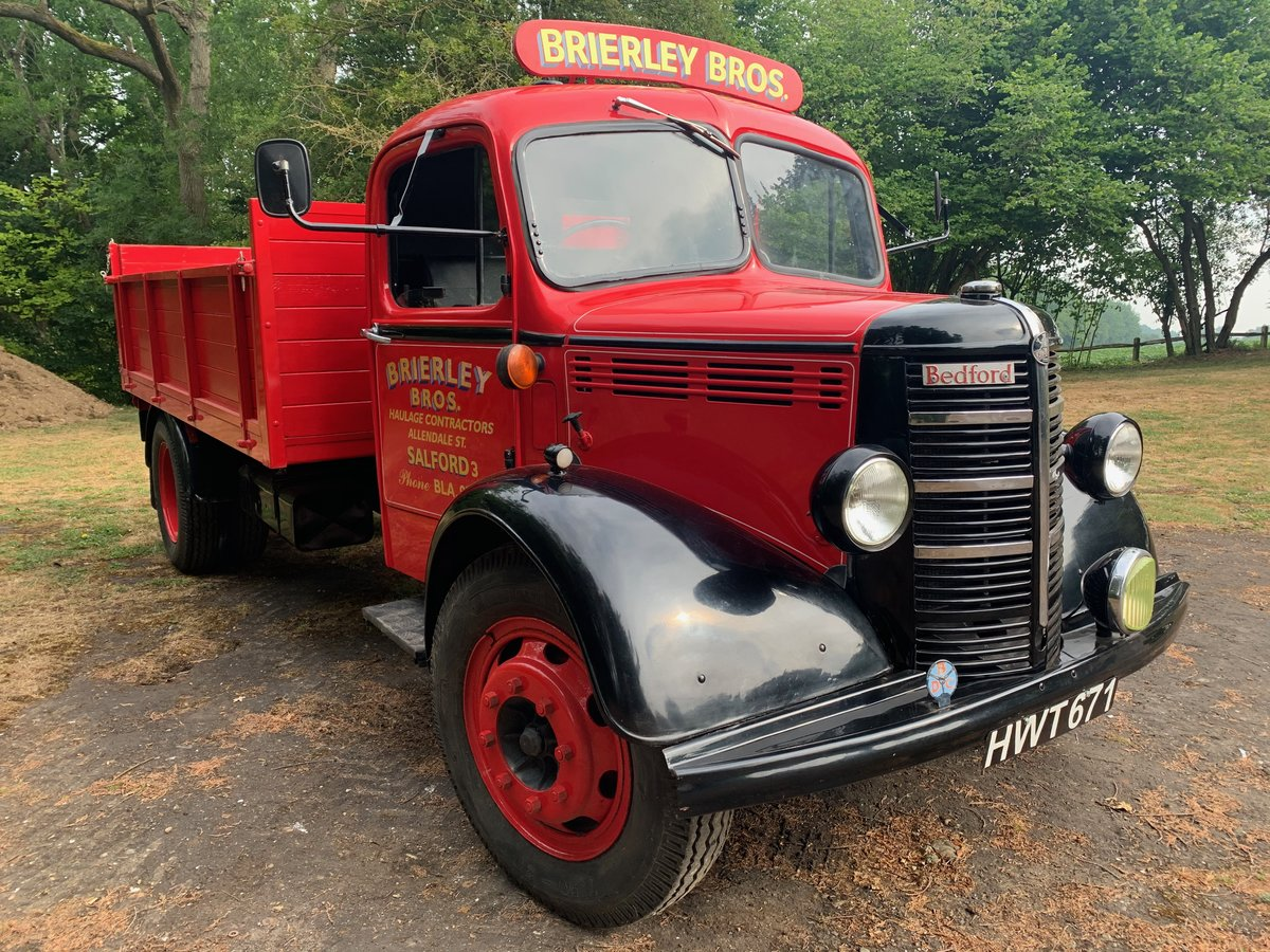 1948 Bedford O hydraulic tipper For Sale (picture 2 of 5)
