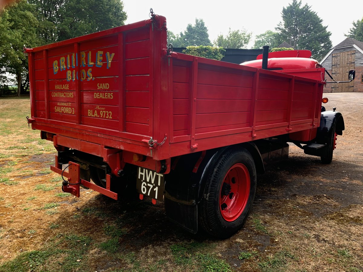 1948 Bedford O hydraulic tipper For Sale (picture 3 of 5)